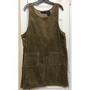 Vintage Curdoruy Pinafore Dress
